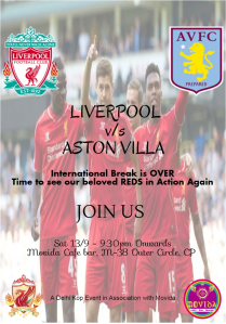 Liverpool v-s Aston Villa Final