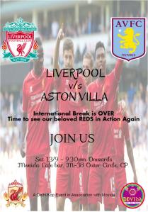 Liverpool v-s Aston Villa Final
